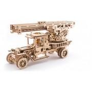 Camionul de Pompieri UGEARS Kit (537 piese)