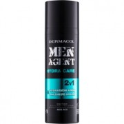 Dermacol Men Agent Hydra Care bálsamo after shave hidratante 2 em 1 50 ml