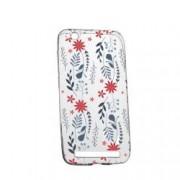Husa pentru Xiaomi Redmi 4A Silicon Slim Motive florale 155