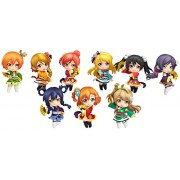 Nendoroid Petit Love Live Angelic Angel Ver. Non Scale Abs & Pvc Painted Trading Moveable Figures 10 Pieces Box
