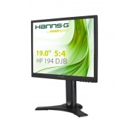 "Monitor TFT, HannsG 19"", HP194DJB, 5ms, 80Mln:1, DVI/VGA, Speakers, 5:4, 1280x1024"