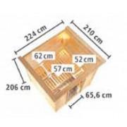 Pompa Filtro a Sabbia Intex 6000Lt/h Piscina Fuoriterra