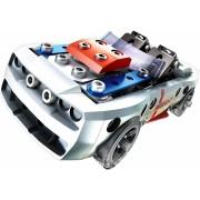 Set de construit cu piese metalice Meccano kit - Masina de curse