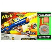 Nerf N Strike Raider Rapid Fire Cs 35 Blaster Bonus Pack