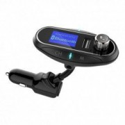Modulator FM Auto Transmitator T12 Hands Free cu Bluetooth 3.0 Aux Dual USB Car Kit Mp3 Player