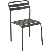 Metalna stolica Cadiz-tamno siva, 55676
