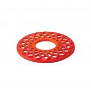 LAVA podložak/podmetač / lijevano željezo gus / promjer 20 cm / crveni