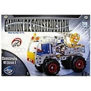Jeu De Construction Camion De Construction Chantier En Metal 249 Pcs + Outil