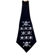 Funcart Pirate Black Long Tie