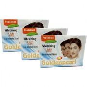 Golden Pearl Whitening for Normal Skin Soap - 100g (Pack Of 3)