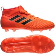 adidas ACE 17.1 FG/AG Pyro Storm - Rood/Zwart Kinderen