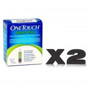 Tiras reactivas para glucómetro OneTouch Select Plus (100 unidades)