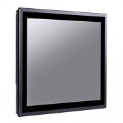 HUNSN 17 Inch IP65 Industrial Touch Panel PC,All in One Computer,10 Points Capacitive TS,Windows 7/10,Linux,Intel J1900,(Black), WD15,[3RS232/VGA/HDMI/LAN/3USB2/1USB3/Audio],(8G RAM/NO SSD)