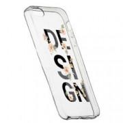 Husa Silicon Transparent Slim Design 144 Apple iPhone 5 5S SE