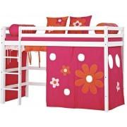 Hoppekids Halvhög säng 90 x 200 cm - Hoppekids Flower Power Säng 102434