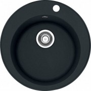 Franke RONDO - Fragranit évier ROG 610-41 onyx, 510mm, cuve ronde (114.0283.879)