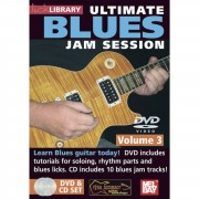 Roadrock International Lick Library: Ultimate Blues Jam Session 3 DVD/CD