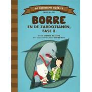 De Gestreepte Boekjes - Borre en de Zardozianen, fase 3