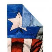 Captain America sokszínű fleece takaró