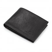 Portofel negru Daniel Klein pentru barbati, din piele naturala, DKW.1023.01