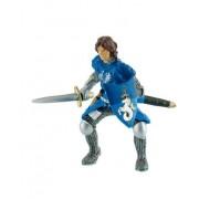Cavaler cu sabie albastru
