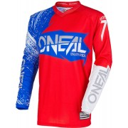 Oneal O´Neal Element Burnout Jersey Rojo/Blanco XXL