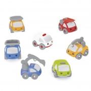 Pachet 7 mașinuțe din plastic pentru circuit