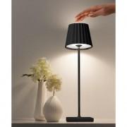 Sompex LED Outdoor Tischleuchte Troll, 10x38x10 cm, dimmbar, schwarz