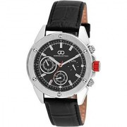 Giordano Quartz Black Dial Mens Watch-G1001-01