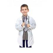 Natural Uniforms New Chamarra de Laboratorio para Niños, Tacto Suave (5/6)