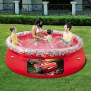 Dečiji bazen sa prstenom CARS 2,44 x 0,66 - Bestway
