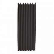 Kant en Klaar Gordijn Met Lus Bruin - 140cm x 260cm