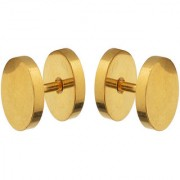 Sanaa Creations Jewellers Gold Metal Stud Earring For Men Daily/Party Wear Stylish Fashion Jewellery for Men/Boys