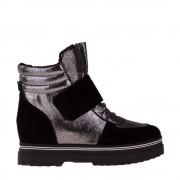 Дамски спортни обувки Oaks черни