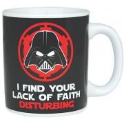 Half Moon Bay Star Wars - Darth Vader Lack of Faith Mug