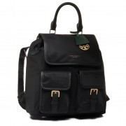 Раница TORY BURCH - Perry Nylon Flap Backpack 58041 Black 001