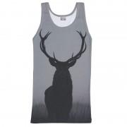 Mr. Gugu & Miss Go Wild Deer Tank Top T Shirt TT635