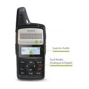 Hytera Radio Digital Portátil de 2 Vías PD366 U, 256 Canales