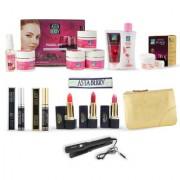 Astaberry Anti Ageing Skin Care Gift Set Wine Facial kit - Face wash Cleansing Milk Mascara Eyeliner