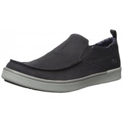 Skechers USA Men's Boyar Lented Slip-on Loafer, Black, 10. 5 M US