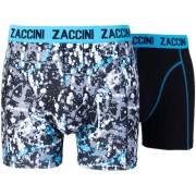 Zaccini boxershort drops blue