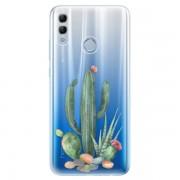 Odolné silikonové pouzdro iSaprio - Cacti 02 - Huawei Honor 10 Lite