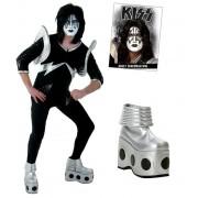 veste printemps / automne pour femmes Kiss - Authentic Spaceman Rock The Nation Costume - NNM -