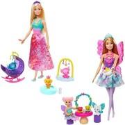 Tündér Barbie baba játékszett