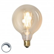 Calex E27 LED G125 Gold Filament 4W 320LM 2100K Dimmable