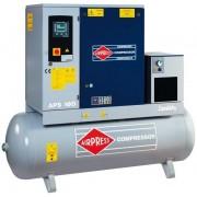 AIRPRESS 400V schroefcompressor combi 10 dry