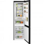 Combina frigorifica Electrolux LNT7ME34K1, No Frost, 360 L, H 201 cm, Control electronic, Racire rapida, Inghetare rapida, Clasa energetica A++, Sticla neagra