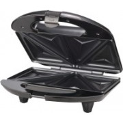 Wonder World ™ Sandwich Maker Non Stick Electric Grill, 750W, Black, 2-Slice Toast(Black)