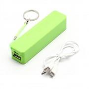 LKM Powerbank 2600mah batteria USB universale VERDE