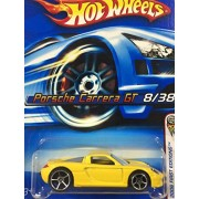 HOT wheels Hot wheels Porsche Carrera GT Porsche Carrera GT Yellow # 8